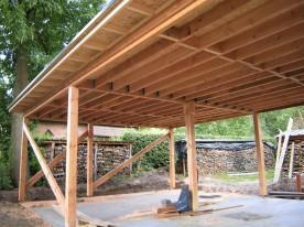 Opbouw carport/garage
