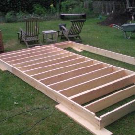 Voorbereiding wand houtconstructie